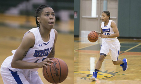 Women's basketball team demolishes Vaughn College 76-35 in regular season finale; Three Knights post double-doubles in convincing victory