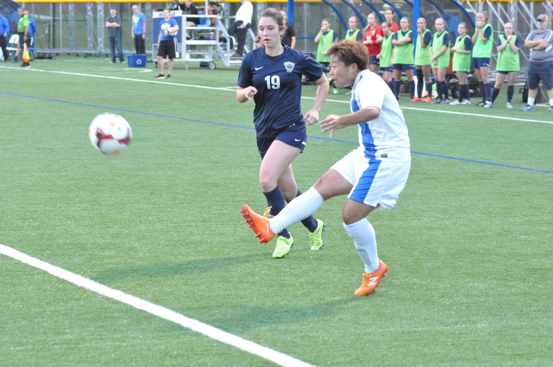 Tornados shut out the Scotties, earn second straight victory