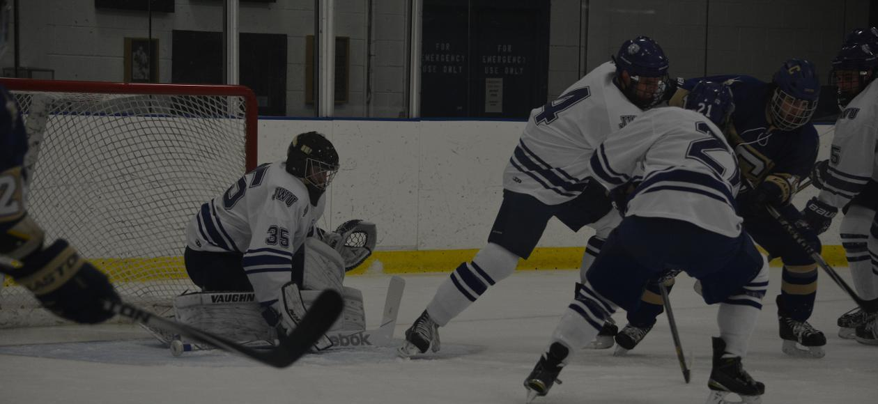 Third Period Undoes Men's Hockey 4-0 at Fredonia