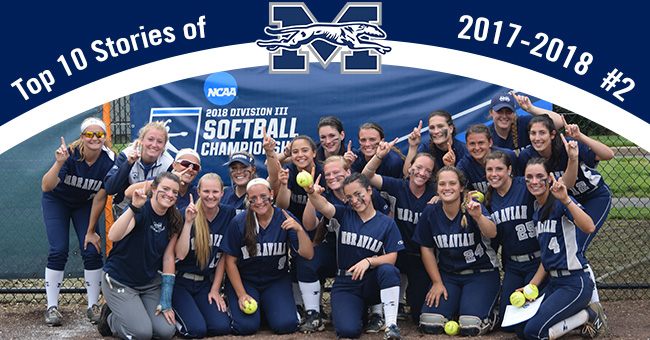 Softball winning another Landmark Conference title and the program's fifth NCAA Regional Championship is No. 2 on the Top 10 Stories of 2017-18.