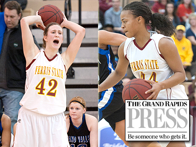 Two FSU Women's Players Honored By GR Press