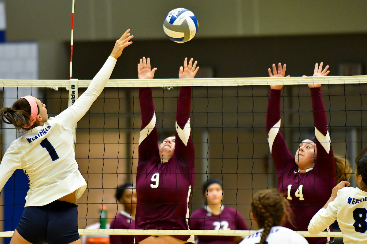 Bay Path defeats Southern Vermont in NECC Volleyball Action 3-0