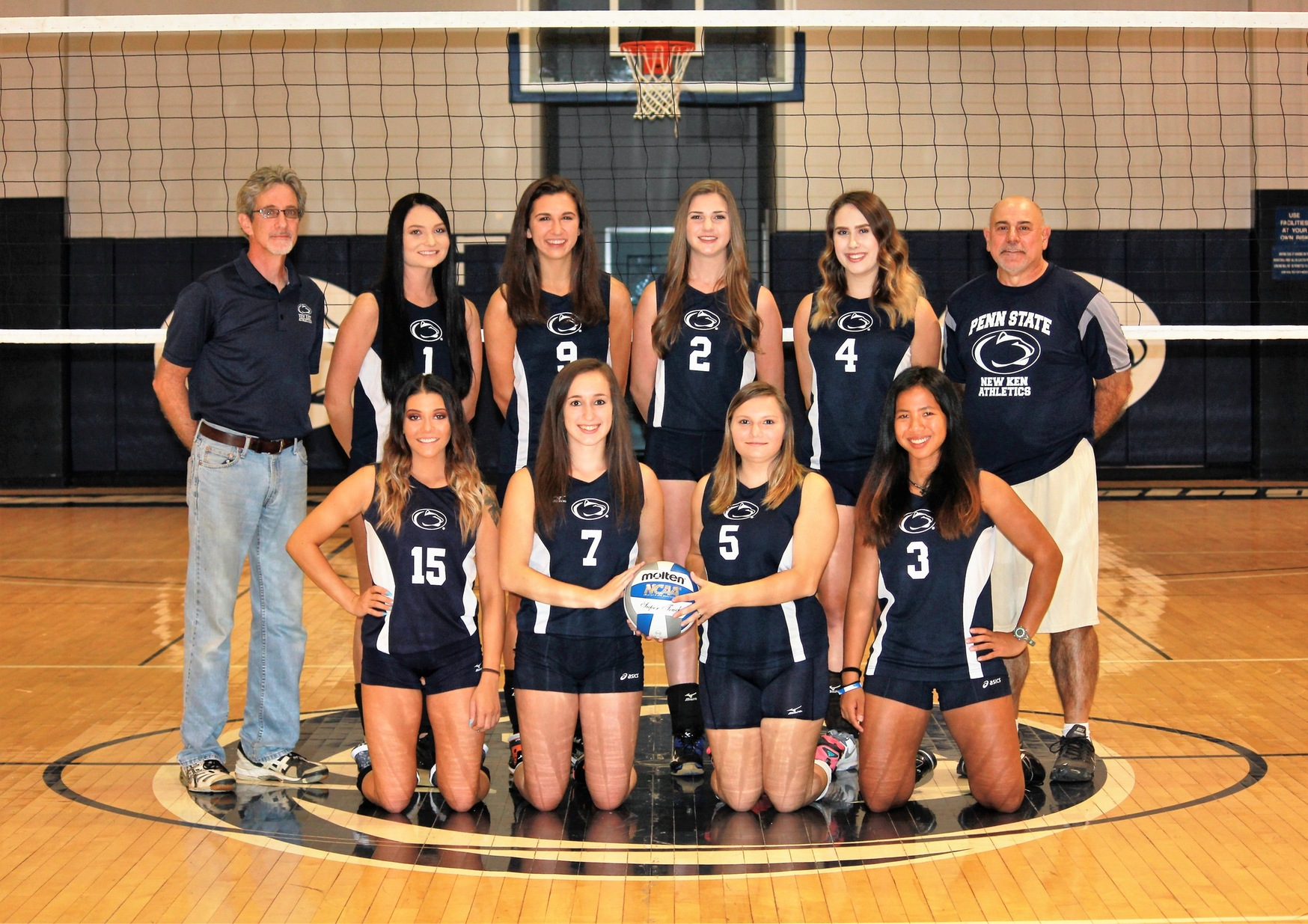 Women's Volleyball Splits on Day One of the PSUCA/WPCC Challenge