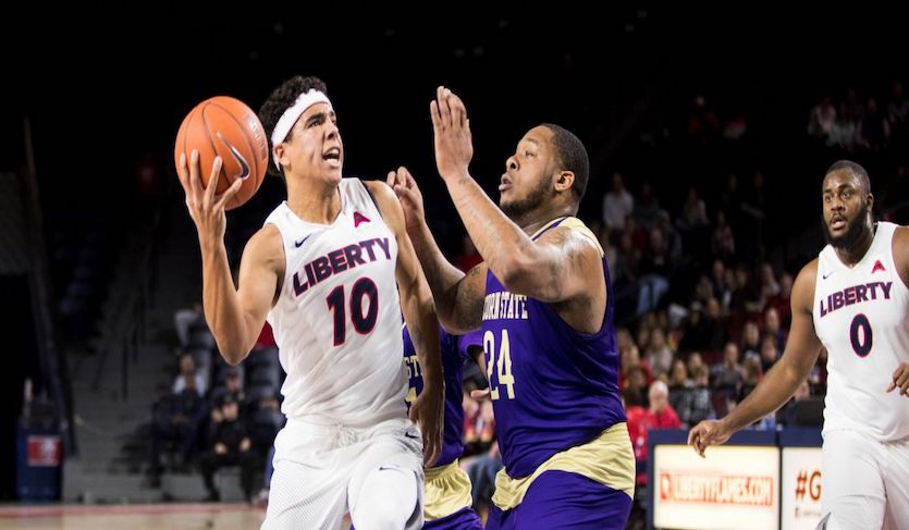 Liberty's Hot First Half Start Leads to Win Over Alcorn State