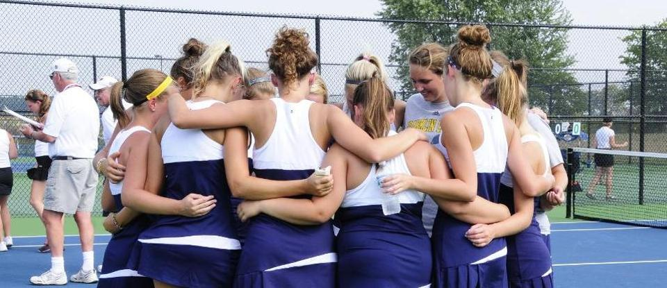 Women's Tennis Earns No. 3 Seed in HCAC Tournament