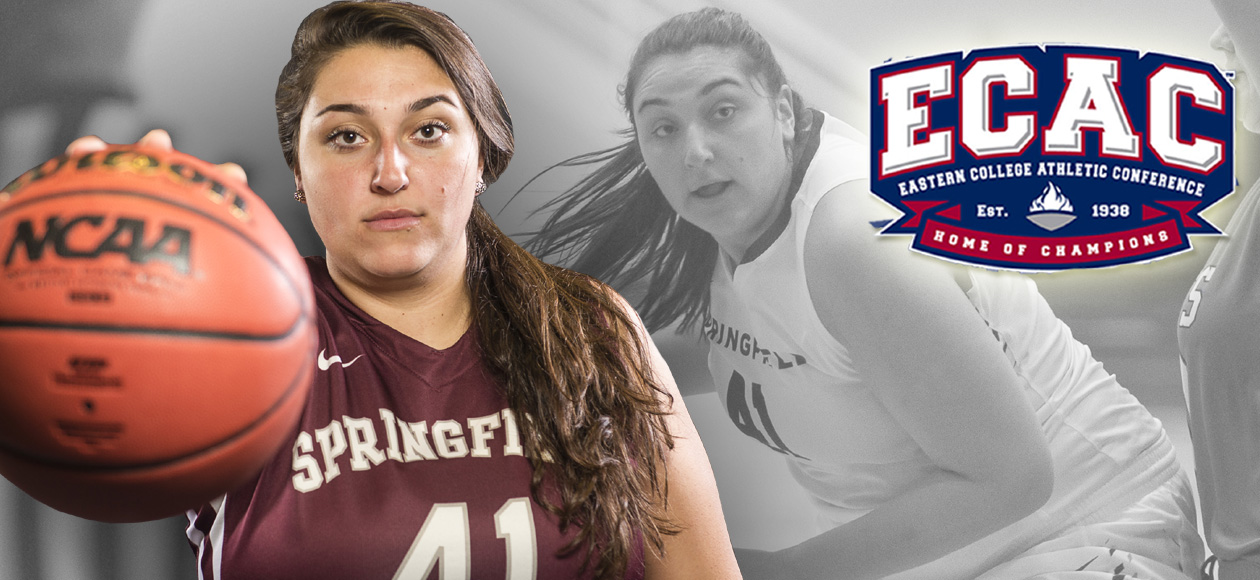 Adamopoulos Named to ECAC Division III New England Women's Basketball All Star Team