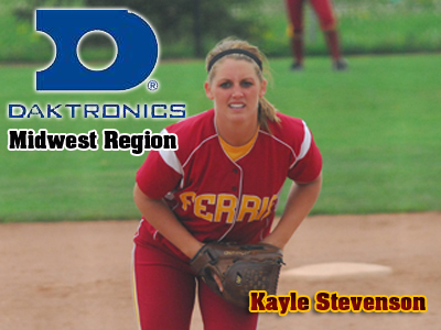 Kayle Stevenson Named To Daktronics Midwest Region Softball Team
