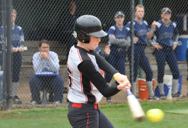 Softball: Last inning rally gives Panthers split of doubleheader at Huntingdon