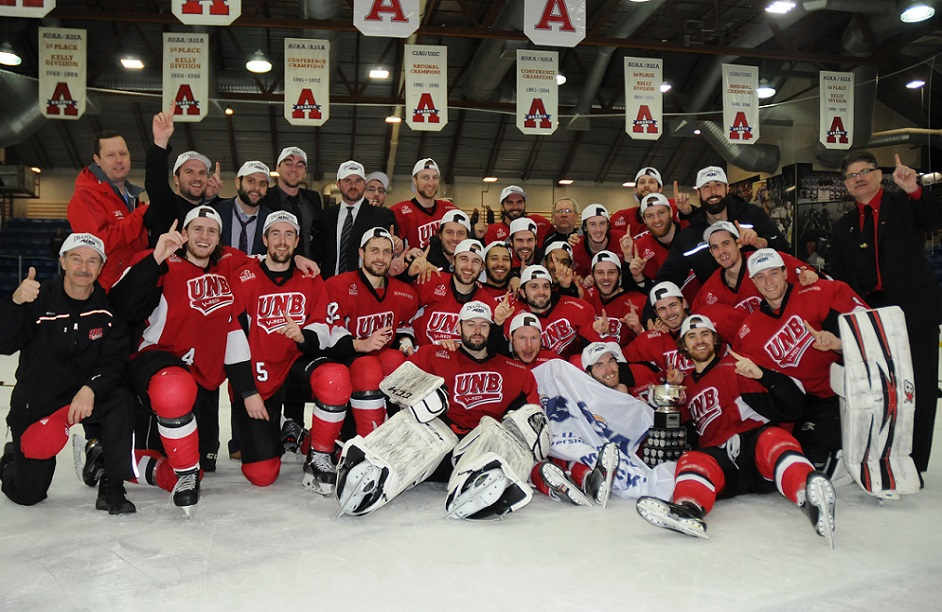 CIS men's hockey Wednesday roundup: UNB captures AUS championship with 2-0 sweep of best of 3 series