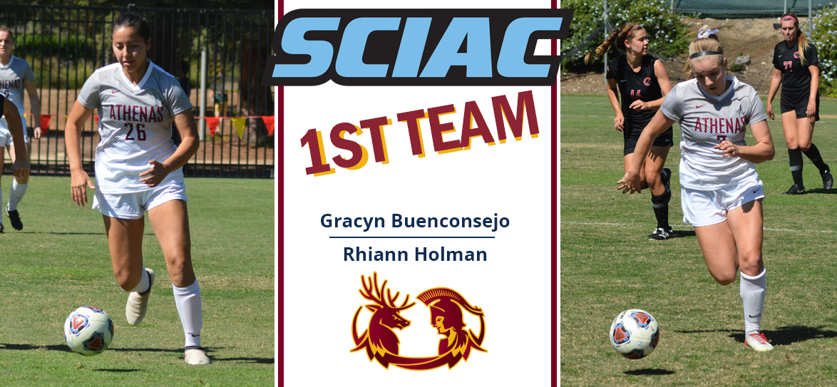 Buenconsejo, Holman Named First-Team All-SCIAC, Tocher Honored on Second Team