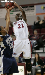Broncos Upset Gaels 82-55 in First Round of WCC Tournament