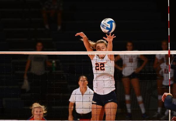 Titans Fall to Anteaters in Five Sets