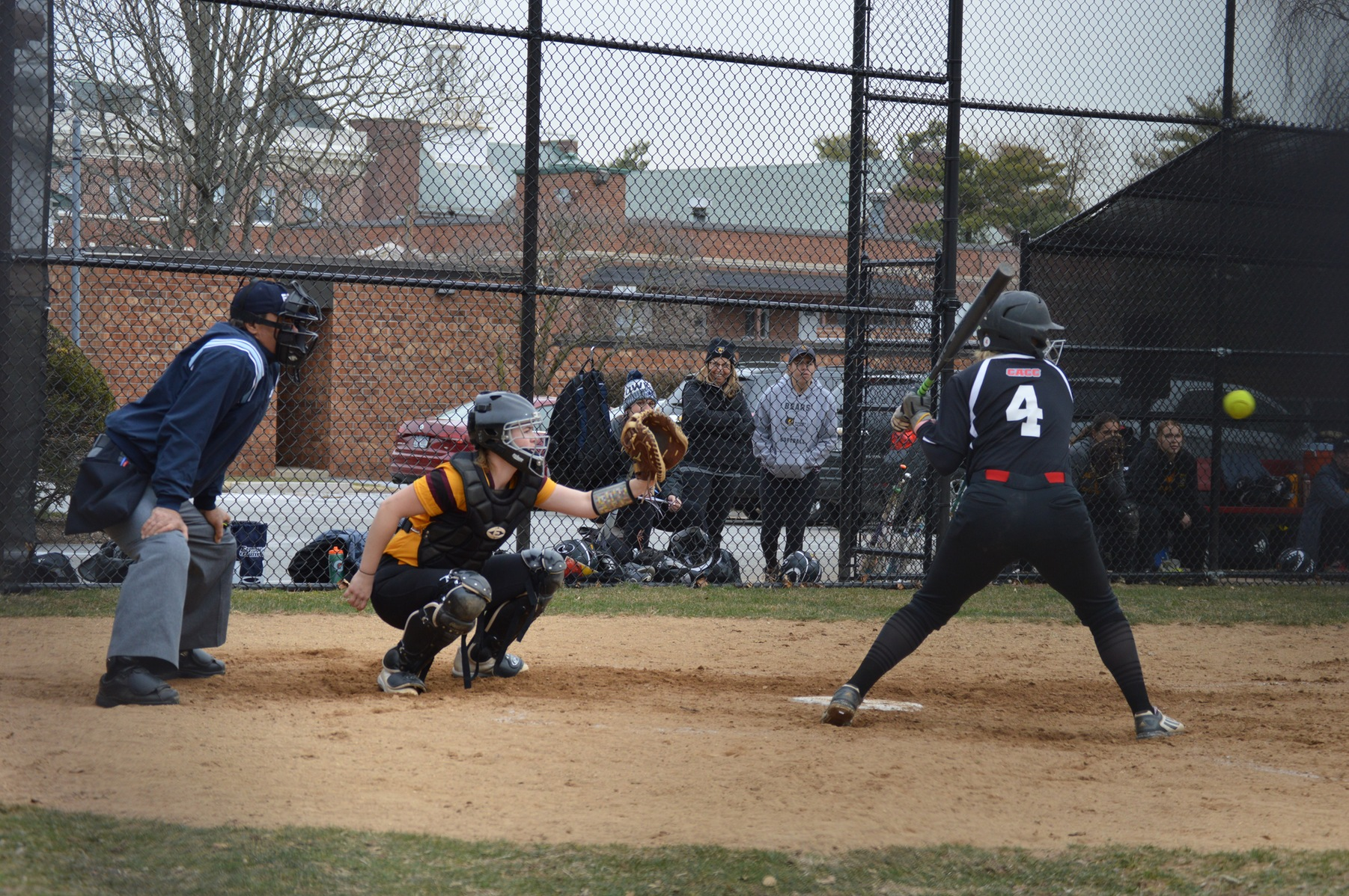 The Dominican College softball team swept Post University 13-8 and 4-2 this afternoon in CACC games.