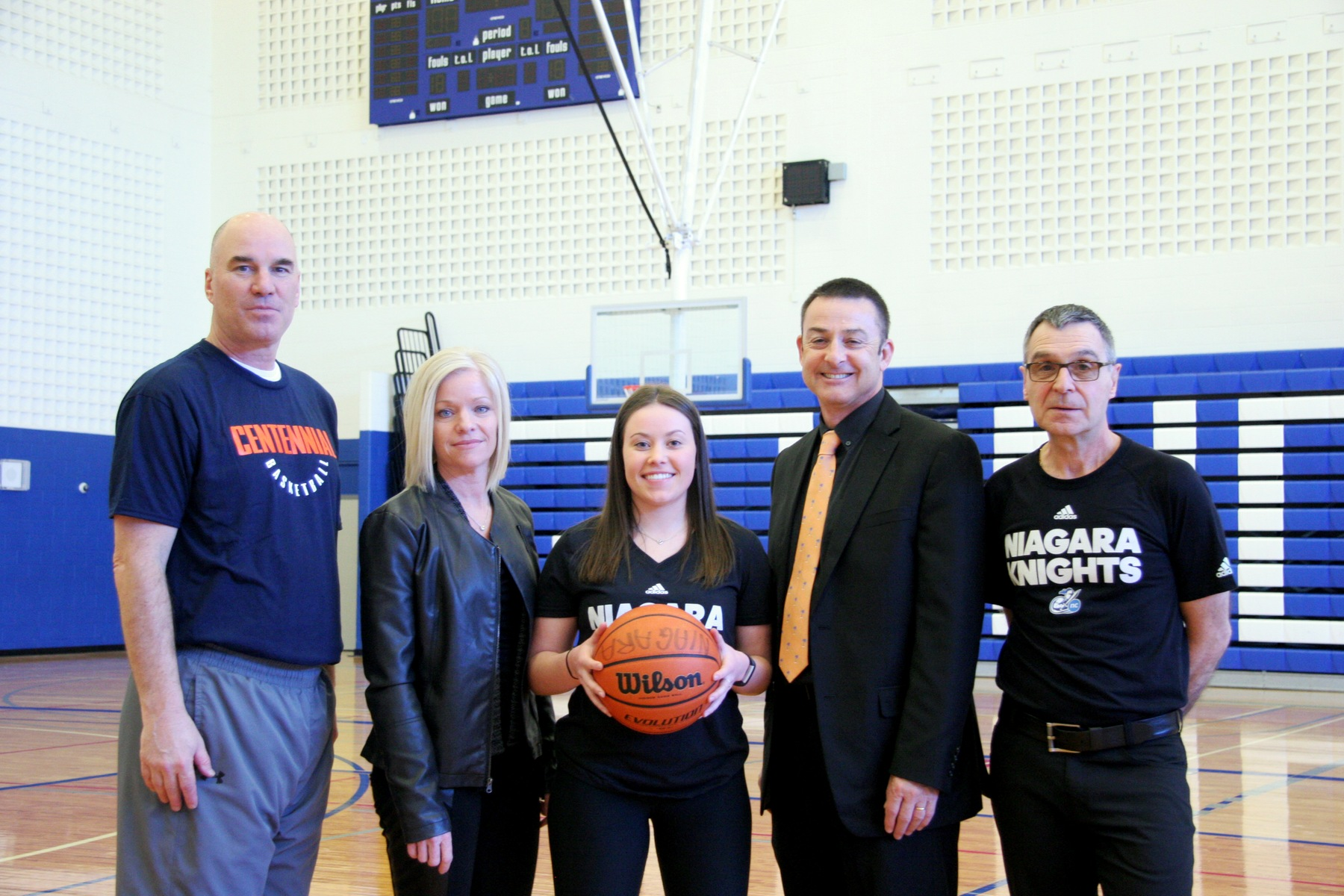 Kirstyn Atkins joins Niagara Knights women's basketball
