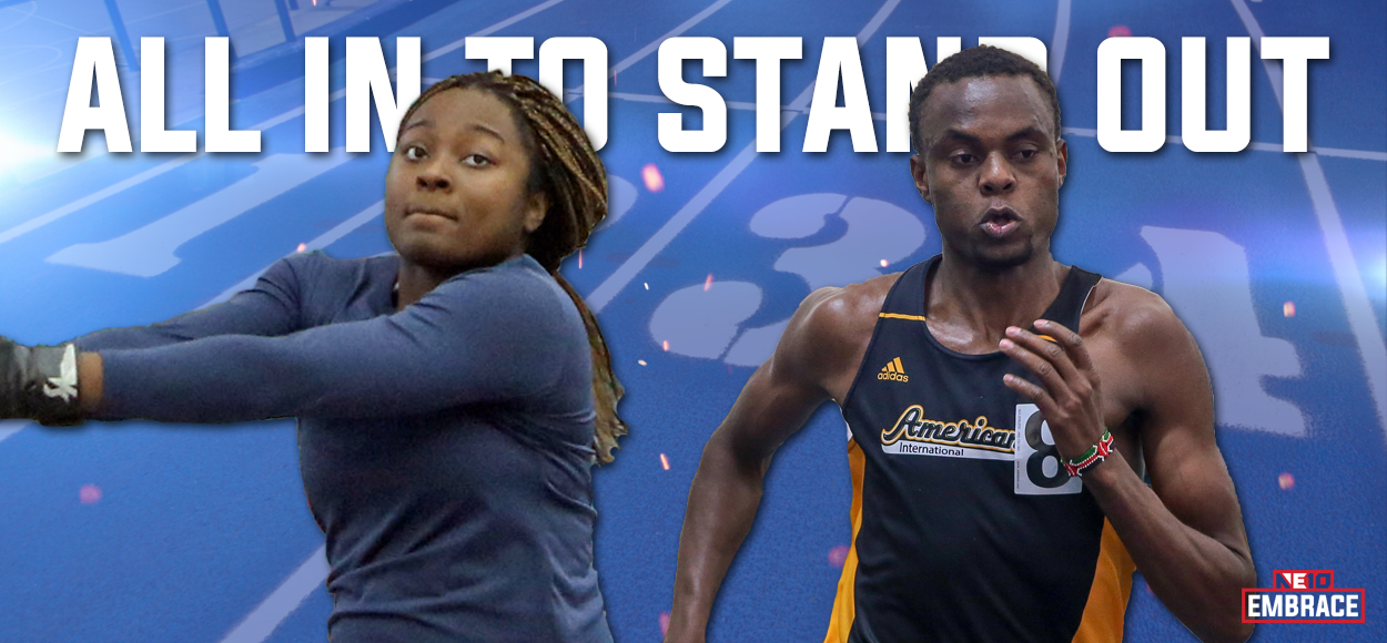 Embrace The Victory: NE10 Announces Indoor Track & Field Major Awards