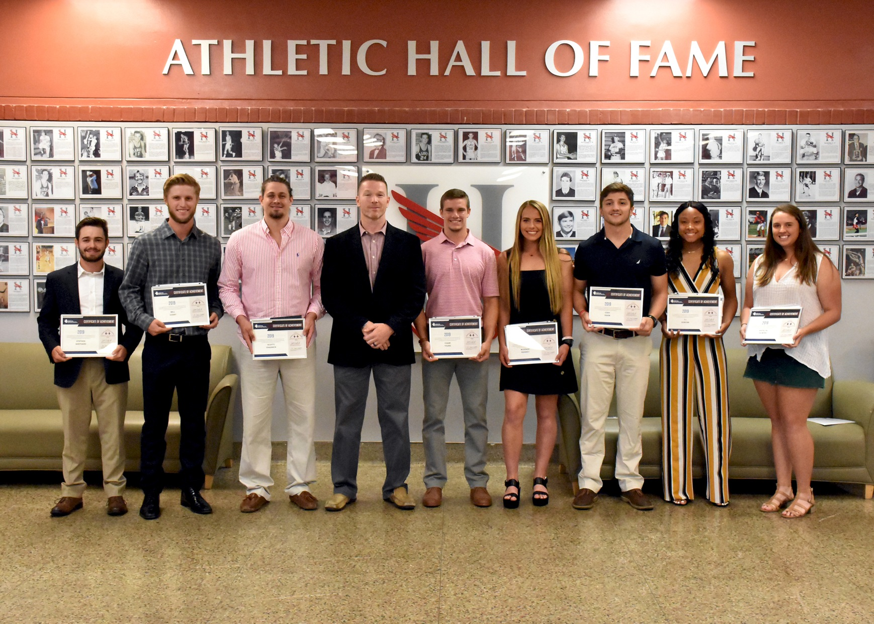 Eight Hawks named NSCA All-American Athletes of the Year