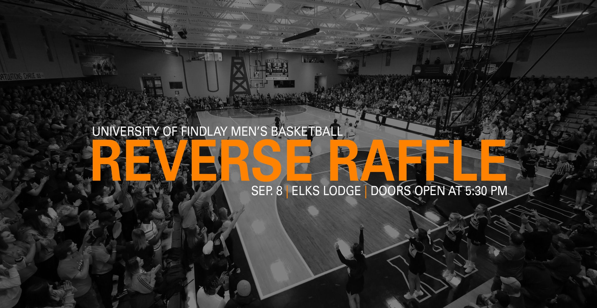 Men's Basketball Reverse Raffle Slated for Sep. 8