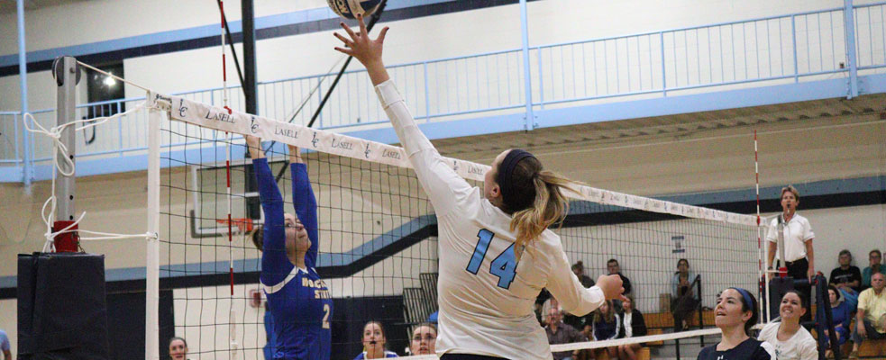 Lasers Drop Intense Five-Setter to Worcester State