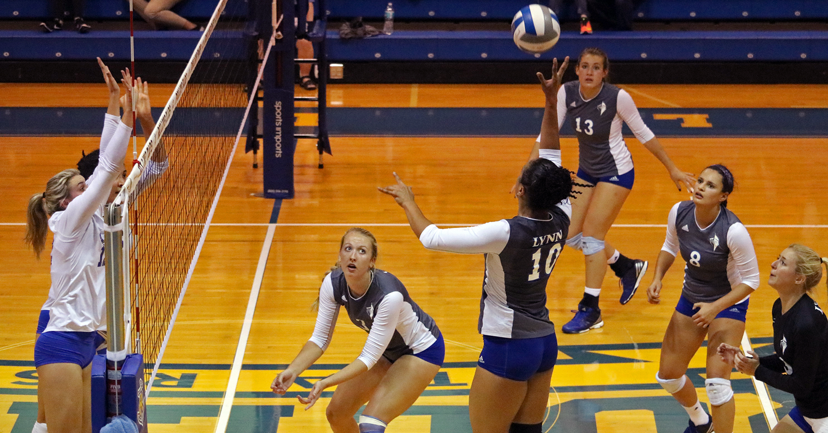 Volleyball Sinks Rollins, Ties Record for SSC Wins in a Season