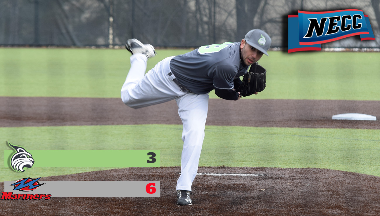 Baseball Drops First Game of Three-Game Series to Mitchell; Game Two Halted in First