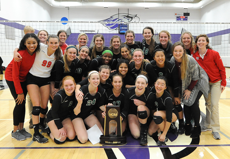 Washington University Volleyball Advances to NCAA Elite Eight With Win Over UW-Whitewater