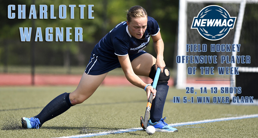 Field Hockey's Wagner Earns NEWMAC Weekly Recognition