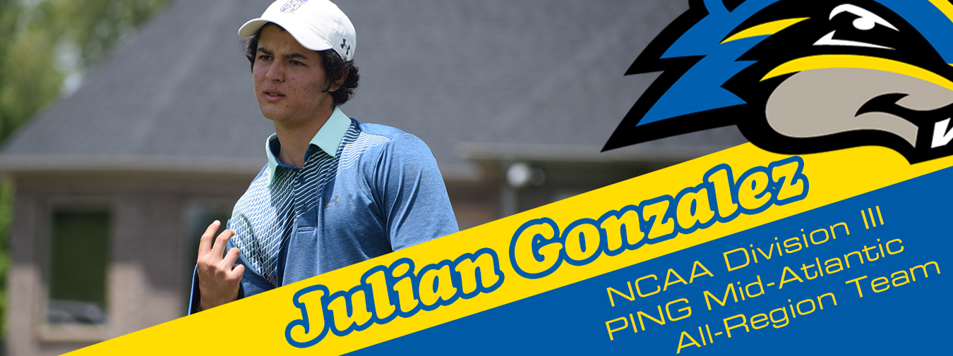 Gonzalez Named To The NCAA Division III PING All-Mid-Atlantic Region Team