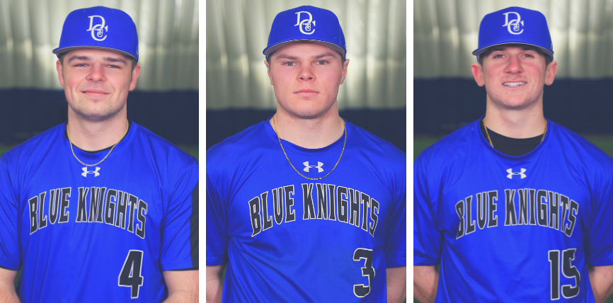 Fredenburg, Goulet, and Winslow Named to All-Region XIII Baseball Team