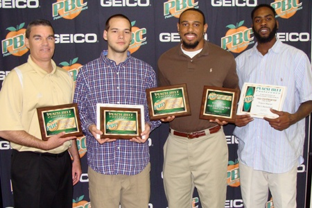 Brown, Macon, Slotter and Leeder receive PBC awards
