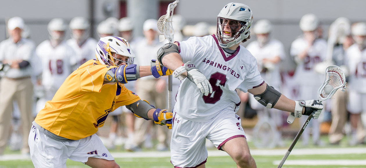 Men's Lacrosse Uses Late Run to Defeat Nazareth, 11-10