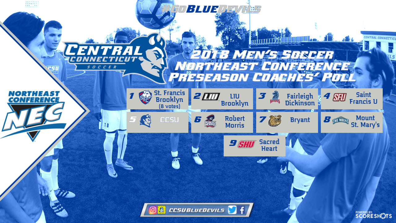 Northeast Conference Announces Preseason Men's Soccer Poll