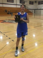 Jesenia Rendon was named to the All-Tournament team
