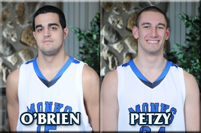 2010-11 Monks Basketball Captains Announced