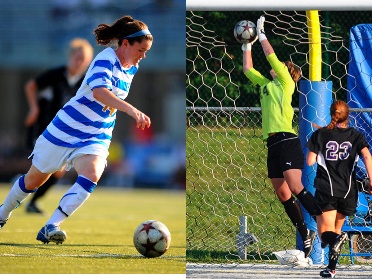 Freshman Allison Kelley Scores Twice as Blue Devils Top Albany 3-0