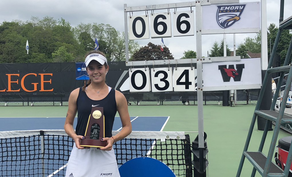 NATIONAL CHAMPION! - Gonzalez-Rico Wins NCAA Division III Singles Title in Straight Sets