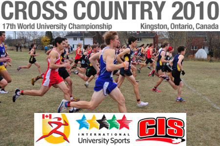 2010 FISU cross country championships in Kingston: Canadians hope to shine on home soil