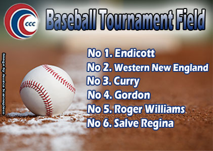 Baseball Earns #3 Seed in CCC Tournament