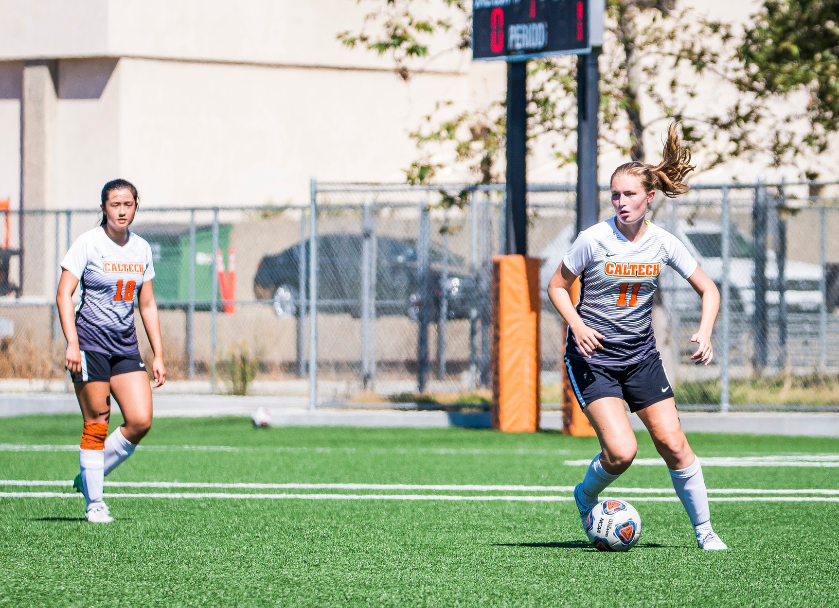 Women's Soccer Defense Strong in First Half at Oxy