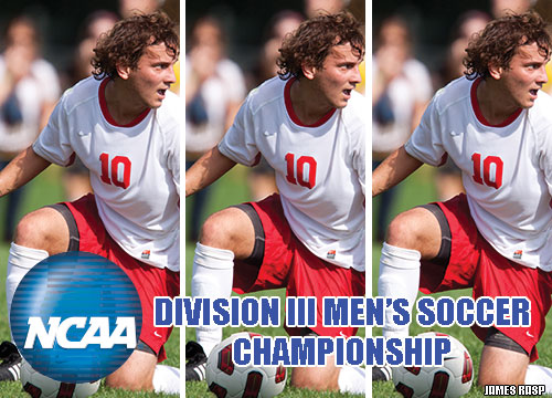 The #22-ranked Red Devils will host the second and third rounds of the NCAA Division III Men's Soccer Championship this weekend