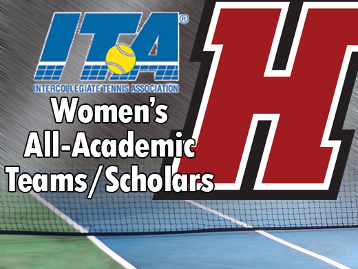Women's Tennis Team Receives ITA All-Academic Award