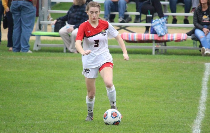 Women's Soccer Opens NECC Slate with 7-0 Win at Mitchell