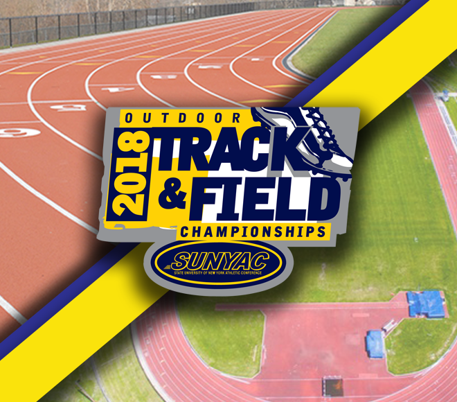 2018 SUNYAC outdoor track and field championship set For May 4-5