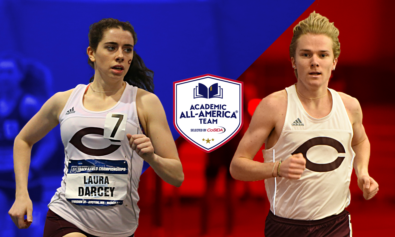Darcey and Cutter Receive CoSIDA Academic All-America Accolades