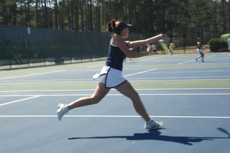 Women's Tennis Falls to Pembroke