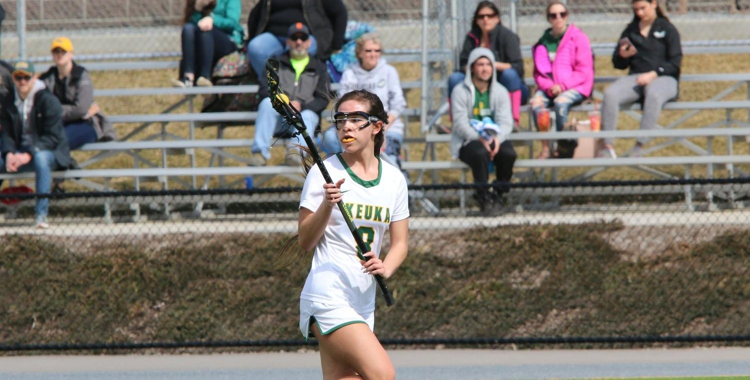Madelaine Taylor (3) set a new career-high with 7 goals on Saturday