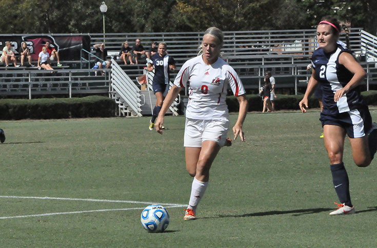 Women's Soccer: Averett blanks Panthers 4-0