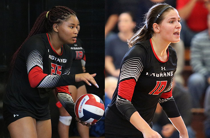2018-19 in Review: Volleyball has two players named to USA South All-Conference teams for first time
