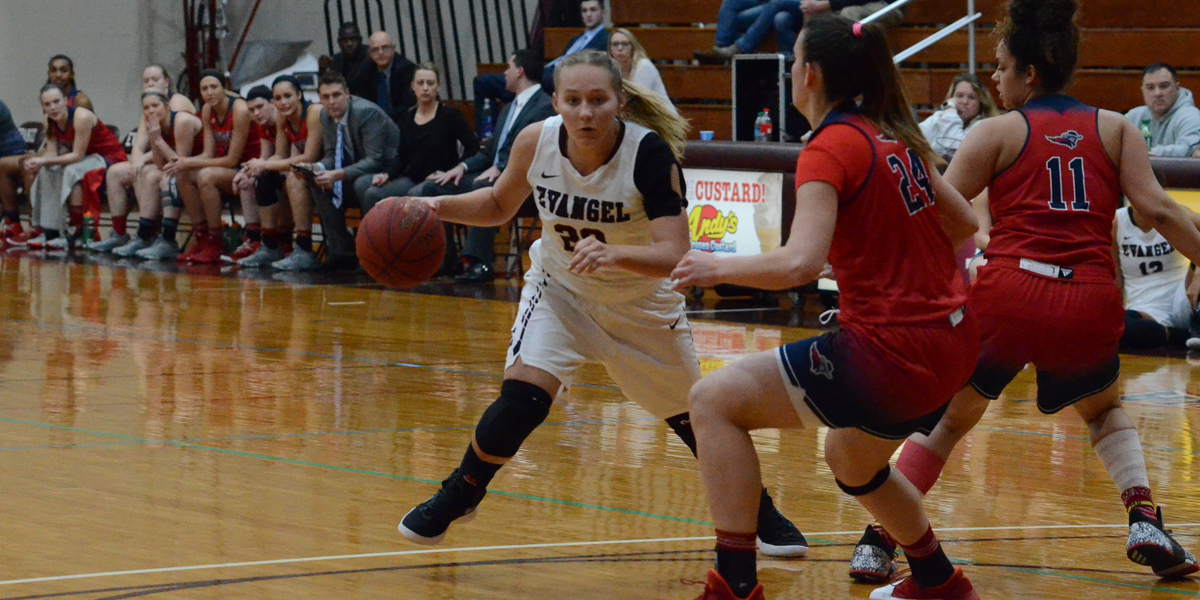 Evangel Women's Basketball Rally Comes up Short at No. 10 Benedictine