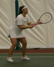 Women's Tennis Edges Out Pacific
