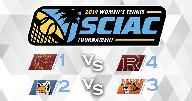 SCIAC Women's Tennis Postseason Tournament Slated For Friday-Saturday, May 3-4